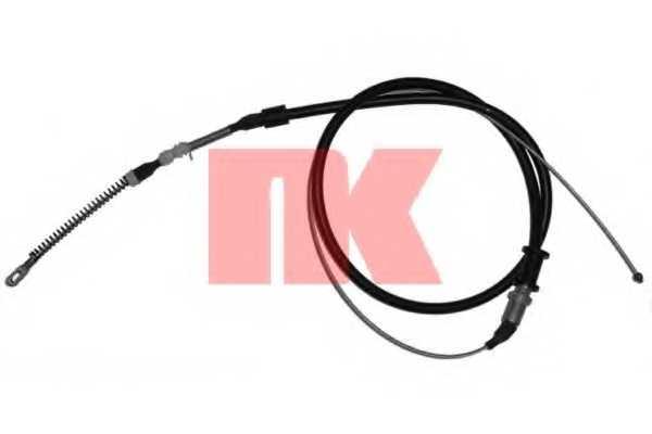 Трос стояночной тормозной системы NK 903662 - изображение