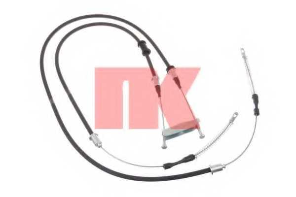 Трос стояночной тормозной системы NK 903664 - изображение