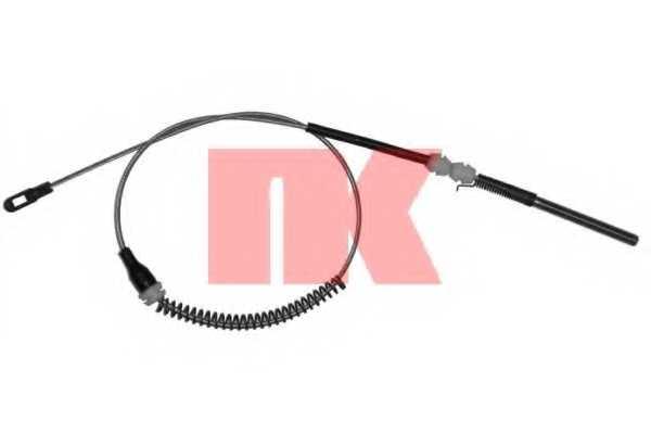 Трос стояночной тормозной системы NK 903667 - изображение