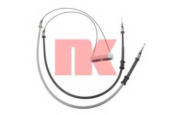 Трос стояночной тормозной системы NK 903669 - изображение