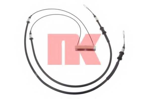 Трос стояночной тормозной системы NK 903672 - изображение