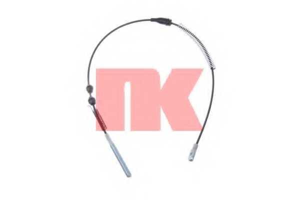 Трос стояночной тормозной системы NK 903673 - изображение