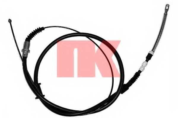 Трос стояночной тормозной системы NK 903674 - изображение
