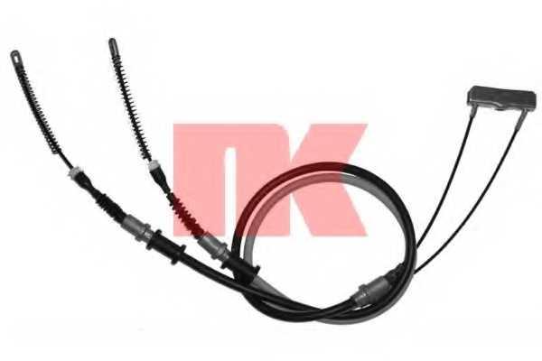 Трос стояночной тормозной системы NK 903676 - изображение