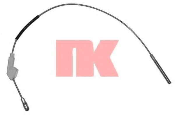 Трос стояночной тормозной системы NK 903677 - изображение