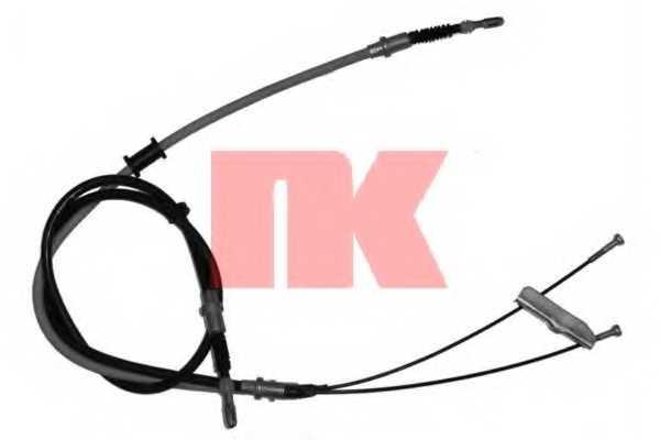 Трос стояночной тормозной системы NK 903685 - изображение