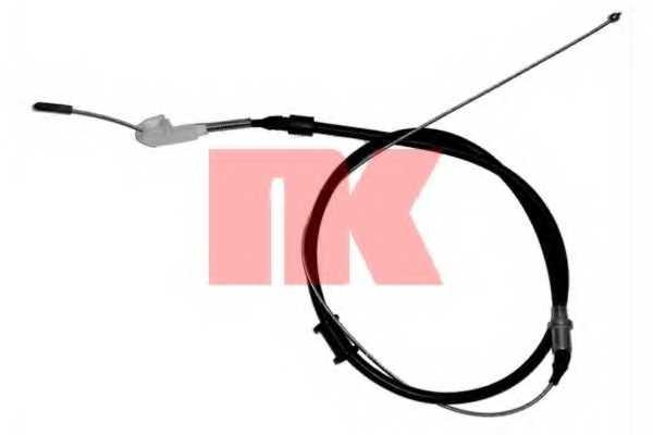 Трос стояночной тормозной системы NK 903687 - изображение