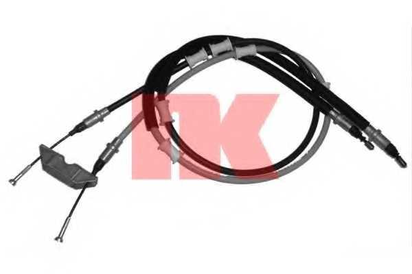 Трос стояночной тормозной системы NK 903691 - изображение