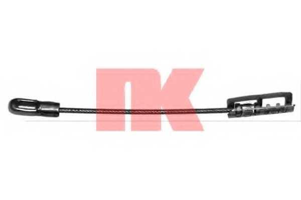 Трос стояночной тормозной системы NK 903693 - изображение
