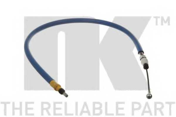 Трос стояночной тормозной системы NK 9037101 - изображение