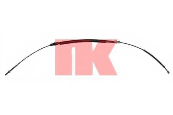 Трос стояночной тормозной системы NK 903746 - изображение