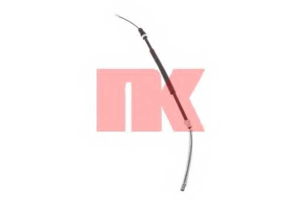 Трос стояночной тормозной системы NK 903747 - изображение