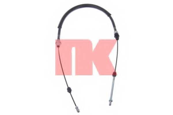 Трос стояночной тормозной системы NK 903748 - изображение