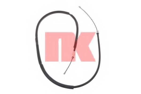Трос стояночной тормозной системы NK 903760 - изображение