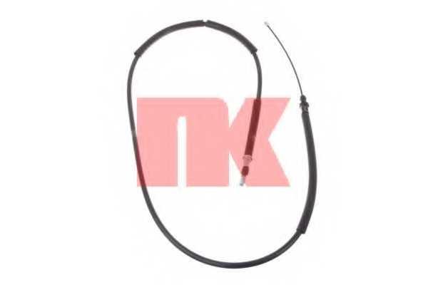 Трос стояночной тормозной системы NK 903762 - изображение