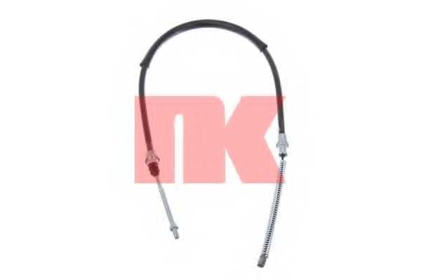 Трос стояночной тормозной системы NK 903767 - изображение