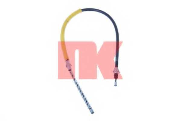 Трос стояночной тормозной системы NK 903768 - изображение