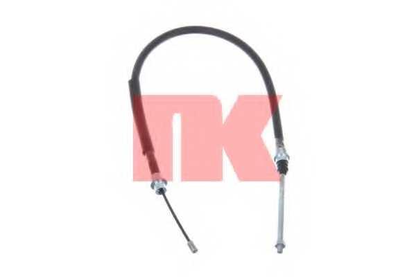 Трос стояночной тормозной системы NK 903770 - изображение