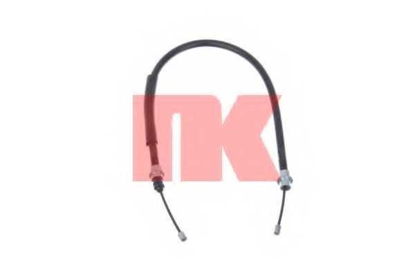 Трос стояночной тормозной системы NK 903775 - изображение
