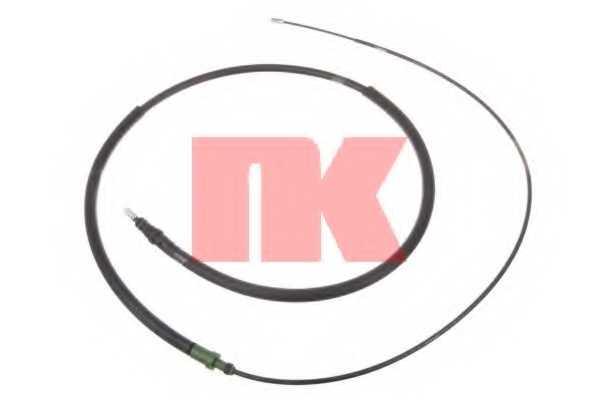 Трос стояночной тормозной системы NK 903778 - изображение