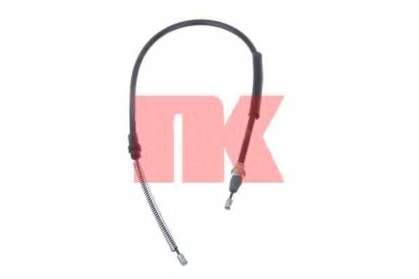 Трос стояночной тормозной системы NK 903784 - изображение