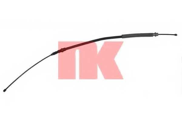 Трос стояночной тормозной системы NK 903786 - изображение