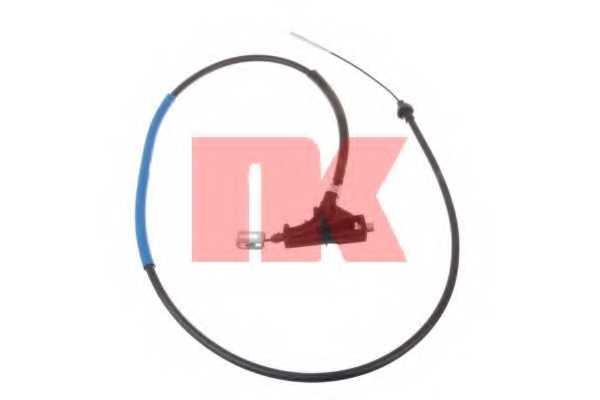 Трос стояночной тормозной системы NK 903788 - изображение