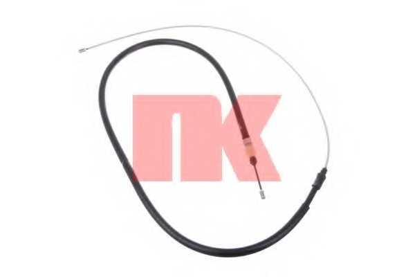 Трос стояночной тормозной системы NK 903793 - изображение