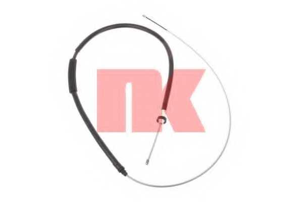 Трос стояночной тормозной системы NK 903796 - изображение