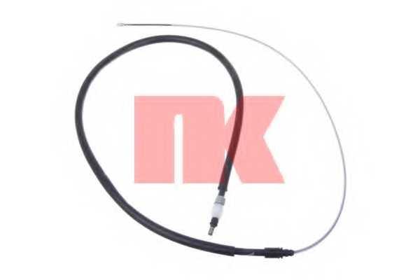 Трос стояночной тормозной системы NK 903797 - изображение