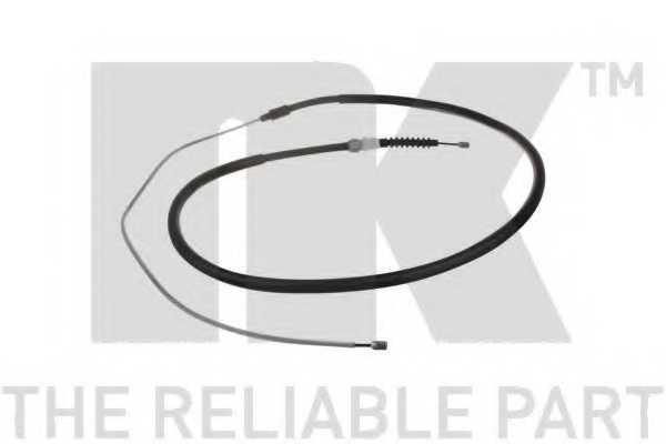 Трос стояночной тормозной системы NK 903798 - изображение