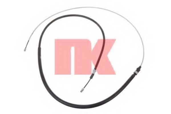 Трос стояночной тормозной системы NK 9039106 - изображение