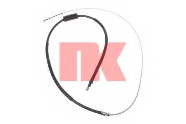Трос стояночной тормозной системы NK 9039109 - изображение