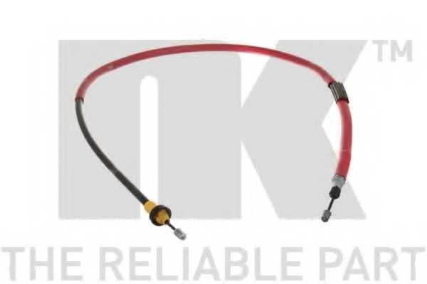 Трос стояночной тормозной системы NK 9039112 - изображение