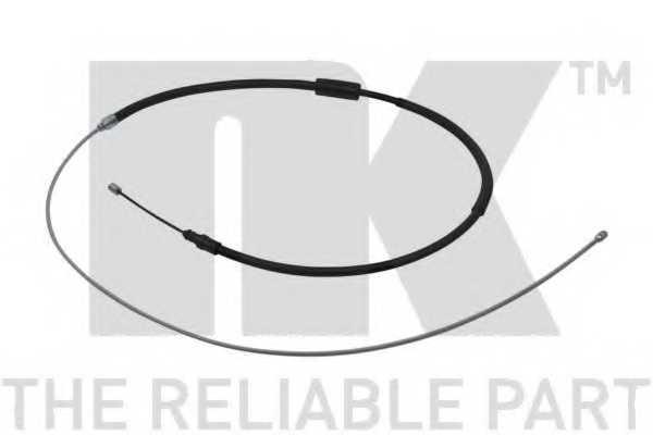 Трос стояночной тормозной системы NK 9039124 - изображение