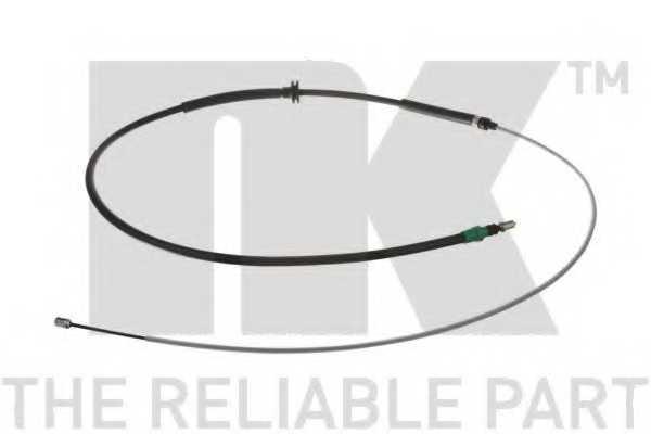 Трос стояночной тормозной системы NK 9039136 - изображение