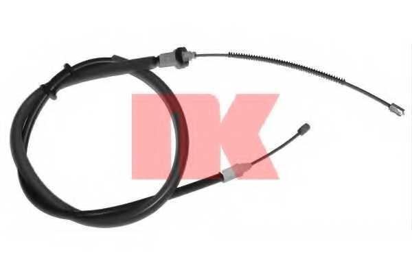 Трос стояночной тормозной системы NK 903989 - изображение