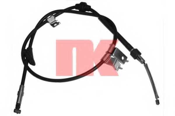 Трос стояночной тормозной системы NK 904001 - изображение