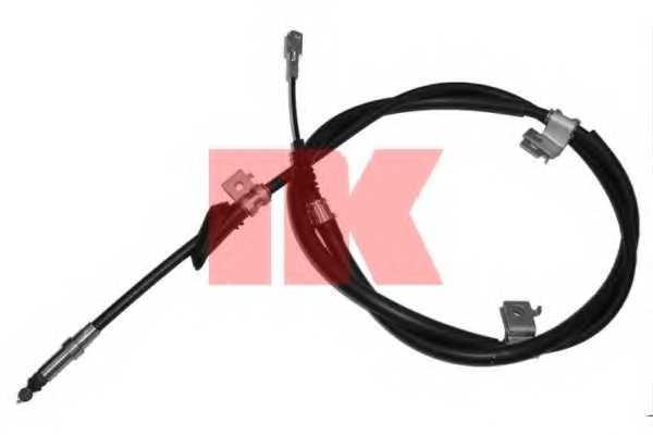 Трос стояночной тормозной системы NK 904003 - изображение
