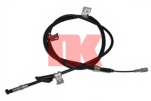 Трос стояночной тормозной системы NK 904004 - изображение
