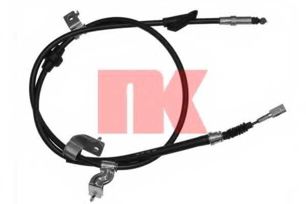 Трос стояночной тормозной системы NK 904005 - изображение