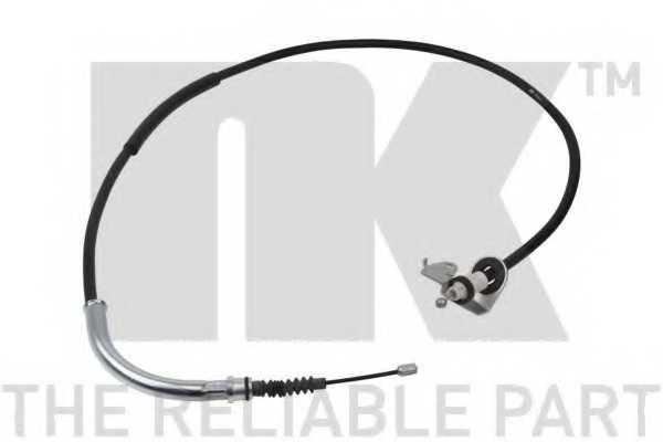 Трос стояночной тормозной системы NK 904011 - изображение