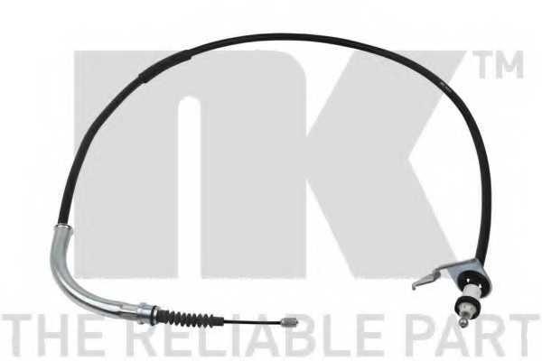 Трос стояночной тормозной системы NK 904012 - изображение