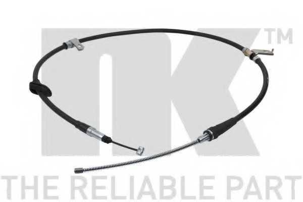 Трос стояночной тормозной системы NK 904019 - изображение