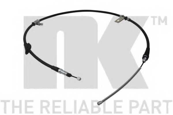 Трос стояночной тормозной системы NK 904020 - изображение