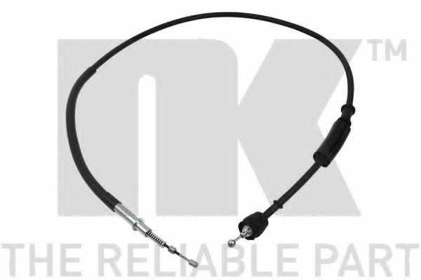 Трос стояночной тормозной системы NK 904025 - изображение