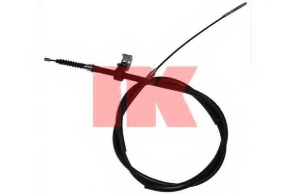 Трос стояночной тормозной системы NK 904109 - изображение