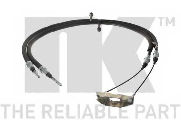 Трос стояночной тормозной системы NK 904121 - изображение