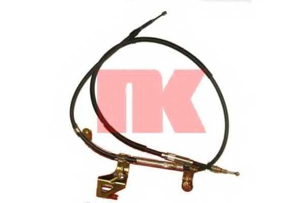 Трос стояночной тормозной системы NK 904314 - изображение