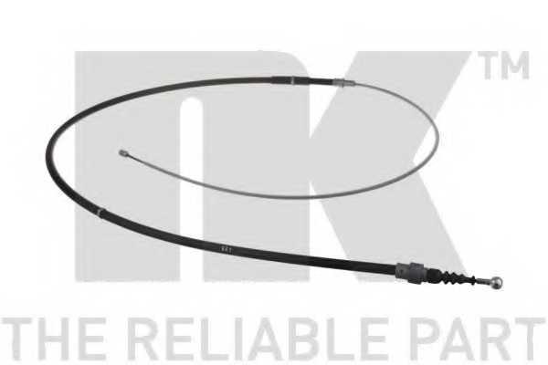 Трос стояночной тормозной системы NK 904318 - изображение